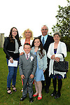 16/05/2015 - Mell Communion – Alan Hayes with his parents Donna & David, sisters Sophie and Katie and Nanny Breda. Picture: www.newsfile.ie