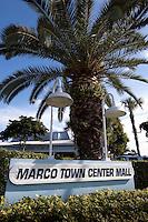 Marco Town Center Mall, Marco Island, Florida, USA.