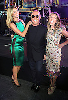 June 15 , 2012 Heidi Klum, Michael Kors and Nina Garcia at Project Runway's 10th Anniversary Kick-Off at Times Square in New York City. © RW/MediaPunch Inc.