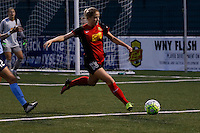 Rochester, NY - Saturday May 21, 2016: Western New York Flash midfielder Abigail Dahlkemper (13). The Western New York Flash defeated Sky Blue FC 5-2 during a regular season National Women's Soccer League (NWSL) match at Sahlen's Stadium.