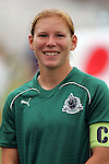 20 June 2009: Lori Chalupny (17) of Saint Louis Athletica.  Saint Louis Athletica were defeated by the visiting Washington Freedom  0-1 in a regular season Women's Professional Soccer game at AB Soccer Park, in Fenton, MO.