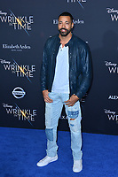 Timon Kyle Durrett at the premiere for &quot;A Wrinkle in Time&quot; at the El Capitan Theatre, Los Angeles, USA 26 Feb. 2018<br /> Picture: Paul Smith/Featureflash/SilverHub 0208 004 5359 sales@silverhubmedia.com