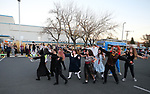 The Youth Theater Carson City Showstoppers dance to Thriller during the Carson City Boo-nanza at the Community Center on Wednesday, Oct. 25, 2017. Co-hosted by Carson City Parks and Recreation, the Carson City Library and the Carson City Aquatics Facility hundreds of families participate in the event which includes trick-or-treating, a haunted house, games, crafts, a dive-in movie and more.<br /> Photo by Cathleen Allison/Nevada Momentum