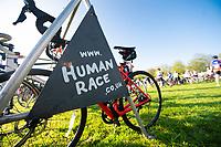 Picture by Allan McKenzie/SWpix.com - 06/05/2018 - Cycling - Maserati Human Race Sportive, Leeds, England - Human race, branding, bike.