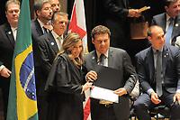 SÃO PAULO,SP,18.12.2018 - DIPLOMAÇÃO-SP - Campos Machado  durante cerimonia de diplomação dos candidatos eleitos para assumir o cargo em janeiro 2019. A cerimonia foi realizada na sala Sao Paulo nesta terça-feira, 18. (Foto Dorival Rosa/Brazil Photo Press)