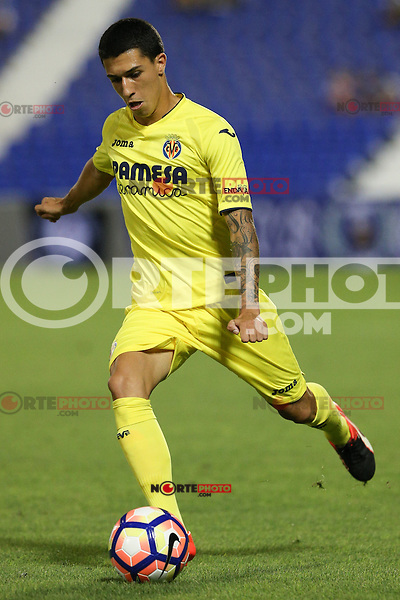 Villarreal's Aitor Cantalapiedra during the XXXVII trophy of Legane's City between CD Leganes and Villarreal CF at Butarque Stadium. August 13, 2016. (ALTERPHOTOS/Rodrigo Jimenez) /NORTEPHOTO