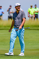 Kevin Chappell (USA) after sinking his putt on 11 during Thursday's round 1 of the 117th U.S. Open, at Erin Hills, Erin, Wisconsin. 6/15/2017.<br /> Picture: Golffile | Ken Murray<br /> <br /> <br /> All photo usage must carry mandatory copyright credit (&copy; Golffile | Ken Murray)