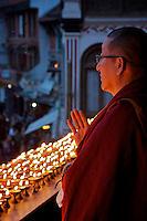 "Full Moon Festival at the Boudhanath Stupa ""Little Tibet"" Kathmandu, Nepal"