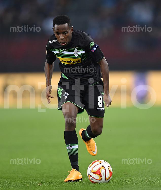 FUSSBALL   INTERNATIONAL   UEFA EUROPA LEAGUE   SAISON 2014/2015 FC Zuerich - VfL Borussia Moenchengladbach    02.10.2014 Ibrahima Traore (Borussia Moenchengladbach) am Ball