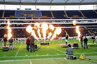 Auftritt Queensberry<br /> German Bowl XXXI Berlin Adler vs. Kiel Baltic Hurricanes, Commerzbank Arena *** Local Caption *** Foto ist honorarpflichtig! zzgl. gesetzl. MwSt. Auf Anfrage in hoeherer Qualitaet/Aufloesung. Belegexemplar an: Marc Schueler, Alte Weinstrasse 1, 61352 Bad Homburg, Tel. +49 (0) 151 11 65 49 88, www.gameday-mediaservices.de. Email: marc.schueler@gameday-mediaservices.de, Bankverbindung: Volksbank Bergstrasse, Kto.: 151297, BLZ: 50960101