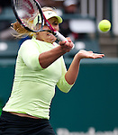 Sabine Lisicki at the Family Circle Cup in Charleston, South Carolina on April 6, 2012