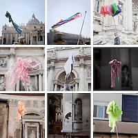 Touristic guides, Rome.