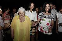 ATENCAO EDITOR: FOTO EMBARGADA PARA VEICULOS INTERNACIONAIS <br />  SAO PAULO, SP, 23 DE OUTUBRO, 2012  -  CONCURSO MISS E MISTER 3ª IDADE DO ESTADO DE SAO PAULO - Primeira Dama, Lu Alckmin, e a Sra Marlene Campos Machado, compareceram  a 19ª edição do  Concurso Miss e Mister 3ª idade do Estado de São Paulo, que aconteceu na tarde dessa terça-feira, 23 - Memorial da America Latina, Barra Funda, zona oeste da capital - FOTO: LOLA OLIVEIRA-BRAZIL PHOTO PRESS