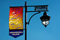 Brookswood Village Street Light Langley B.C.
