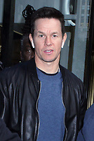 NEW YORK, NY - November 08: Mark Wahlberg seen wearing Apple AirPods on his way to NBC's Today Show promoting his new movie Instant Family on November 08, 2018 in New York  City. Credit: RW/MediaPunch