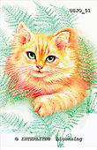 Marie, REALISTIC ANIMALS, REALISTISCHE TIERE, ANIMALES REALISTICOS, paintings+++++,USJO51,#A# ,Joan Marie cat