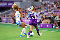 Orlando, FL - Wednesday September 11, 2019: Casey Short, Erin Greening , Orlando Pride vs  Chicago Red Stars at Exploria Stadium.