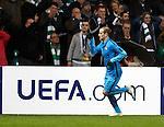 Rodrigo Palacio celebrates goal no 3