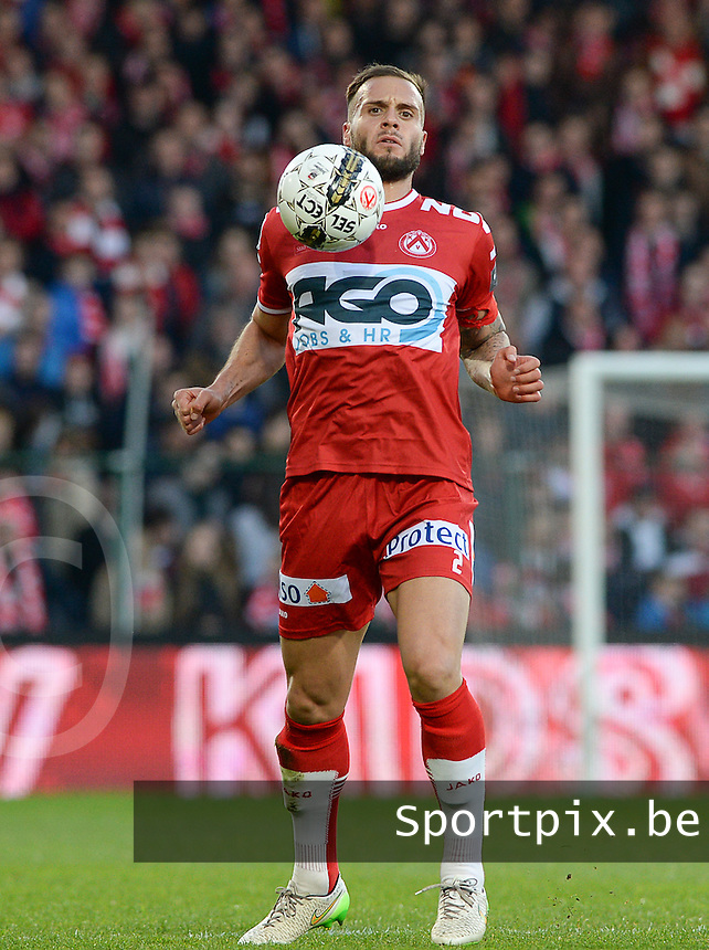 KV Kortrijk - Standard :  Maxime Chanot <br /> Foto VDB / Bart Vandenbroucke