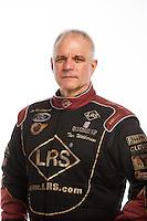 Feb 10, 2016; Pomona, CA, USA; NHRA funny car driver Tim Wilkerson poses for a portrait during media day at Auto Club Raceway at Pomona. Mandatory Credit: Mark J. Rebilas-USA TODAY Sports