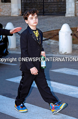 12.05.2015, Antibes; France: ROMAN KEITEL ALL DRESSED UP FOR THE OCCASION - Was He The Youngest Attendee?<br /> Cinema Against AIDS amfAR Gala 2015 held at the Hotel du Cap, Eden Roc in Cap d'Antibes.<br /> MANDATORY PHOTO CREDIT: &copy;NEWSPIX INTERNATIONAL<br /> <br /> (Failure to credit will incur a surcharge of 100% of reproduction fees)<br /> <br /> **ALL FEES PAYABLE TO: &quot;NEWSPIX  INTERNATIONAL&quot;**<br /> <br /> Newspix International, 31 Chinnery Hill, Bishop's Stortford, ENGLAND CM23 3PS<br /> Tel:+441279 324672<br /> Fax: +441279656877<br /> Mobile:  07775681153<br /> e-mail: info@newspixinternational.co.uk