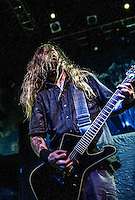 Decapitated opens for Gwar at the House of Blues in New Orleans, LA on October 24, 2014.