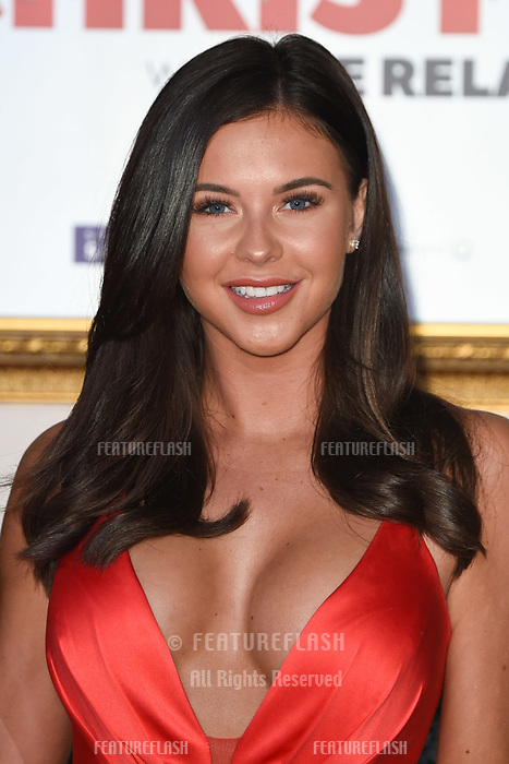 "LONDON, UK. November 21, 2018: Shelbey Tribble at the ""Surviving Christmas with the Relatives"" premiere at the Vue Leicester Square, London.<br /> Picture: Steve Vas/Featureflash"