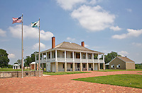 Visitor Center and former hospital at Fort Scott National Historic Site, Kansas, AGPix_0634