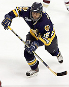 Hank Carisio - Boston College defeated Merrimack College 3-0 with Tim Filangieri's first two collegiate goals on November 26, 2005 at Kelley Rink/Conte Forum in Chestnut Hill, MA.