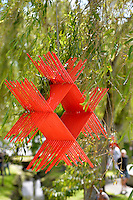 Steve Molloy, Kite, Shapeshifter 2014, Civic Gardens, Lower Hutt, Wellington, New Zealand on Sunday 2 March2014.<br /> Photo by Masanori Udagawa.<br /> www.photowellington.photoshelter.com.