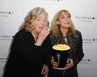 COCONUT CREEK, FL - FEBRUARY 22: Joan Anderson and Karen Allen attend a special preview screening of Year By The Sea at Silverspot Cinema on February 22, 2017 in Coconut Creek , Florida. Credit: mpi04/MediaPunch