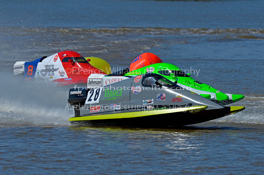 Andy Versace, (#28), 44 and Jeremiah Mayo, (#8)        (SST-45 class)