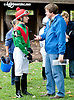 Alex Cintron & Richard Mettee before The Barbaro Stakes at Delaware Park on 10/9/13