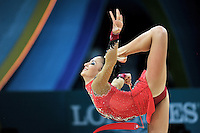 August 29, 2013 - Kiev, Ukraine - JANA BEREZKO of Germany performs at 2013 World Championships.
