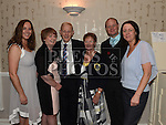 Thomas and Mary McElearney celebrating their 50th wedding anniversary in the Fishermans with daughters Sandra, Deirdre and Amanda and son Mark. Photo:Colin Bell/pressphotos.ie