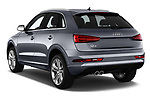 Car pictures of rear three quarter view of 2016 Audi Q3  2.0T-FWD-tiptronic-Premium-Plus  5 Door SUV angular rear