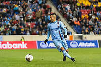 HARRISON, NJ - MARCH 11: Maximiliano Moralez #10 of NYCFC during a game between Tigres UANL and NYCFC at Red Bull Arena on March 11, 2020 in Harrison, New Jersey.