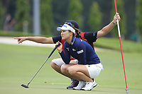 So Yeon Ryu (KOR) in action on the 11th during Round 1 of the HSBC Womens Champions 2018 at Sentosa Golf Club on the Thursday 1st March 2018.<br /> Picture:  Thos Caffrey / www.golffile.ie<br /> <br /> All photo usage must carry mandatory copyright credit (&copy; Golffile | Thos Caffrey)