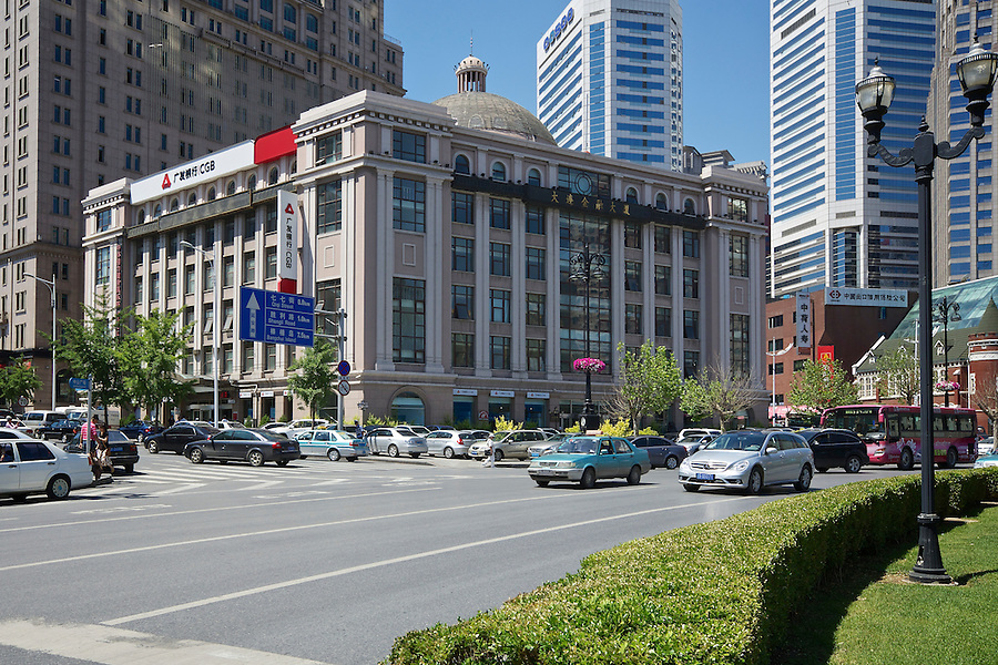 The Dalian Financial Centre, Built In 2000 On The Site Of The Consulate In Dalian (Dairen/Dalny).  The Consulate Was Built In 1914 And Demolished In 1995.