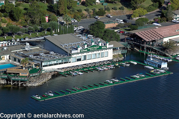 aerial photograph Konocti Harbor Resort and Spa; Lake County; California