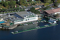 aerial photograph Konocti Harbor Resort and Spa; Lake County; California