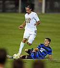 Aug. 25, 2012; Men's Soccer vs Duke; Luke Mishu..Photo by Matt Cashore/University of Notre Dame