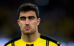 Borussia Dortmund defender Sokratis Papastathopoulos during the match against Manchester City FC during their 2016 International Champions Cup China match at the Shenzhen Stadium on 28 July 2016 in Shenzhen, China. Photo by Marcio Machado / Power Sport Images