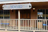 The Alaska Railroad's Seward Depot.