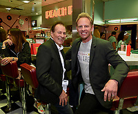 "LOS ANGELES - AUGUST 3: Joe E. Tata and Ian Ziering attend the BH 90201 Peach Pit Pop-Up for FOX's ""BH90201"" on August 3, 2019 in Los Angeles, California. (Photo by Frank Micelotta/Fox/PictureGroup)"