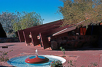 F.L. Wright: Taliesin West.  Photo '77.