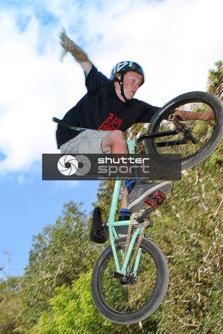 Zero Gravity Freestyle Bike Event, Nelson BikeFest 2015, Brandford Reserve, Gravity Jump Track, 07 February, Photographer: Marc Palmano/Shuttersport