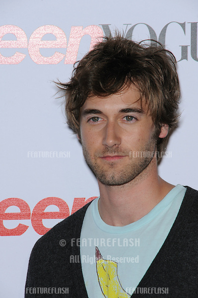 Ryan Eggold at Teen Vogue's Young Hollywood party at the Los Angeles County Museum of Art..September 18, 2008  Los Angeles, CA.Picture: Paul Smith / Featureflash