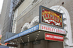 Theatre Marquee unveiling for 'The Elephant Man' starring Bradley Cooper, Patricia Clarkson and Alessandro Nivola  at the Booth Theatre on June 12, 2014 in New York City.