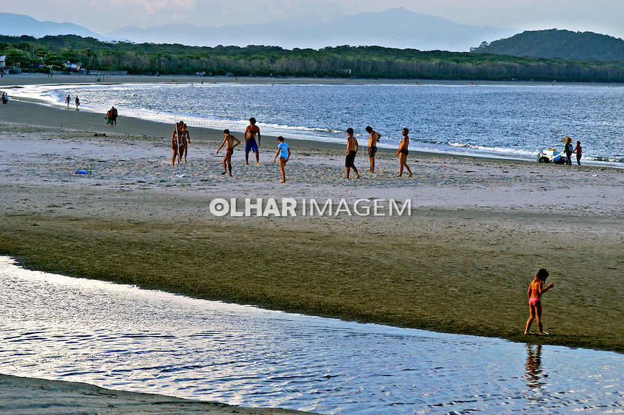 Praia na Ilha do Mél. Paraná. 2006. Foto de Thais Falcão.